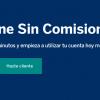 BBVA cuenta online sin comisiones