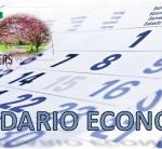 CALENDARIO ECONÓMICO, SEMANA DEL 19 AL 25 DE ABRIL